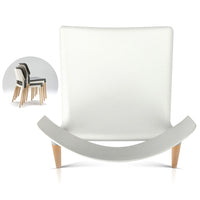 Set of 4 Dining Chair - White - HomeSimplicity