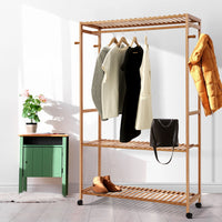 Bamboo Clothes Rack demo picture 3