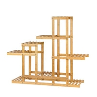 Bamboo Flower Plant Stand