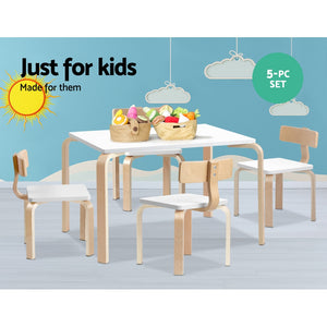 Kids 5 Piece Table & Chair Set demo picture