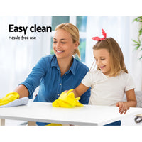 Kids 5 Piece Table & Chair Set family cleaning