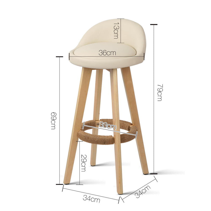 Dalvey -  Bar Stools  measurements