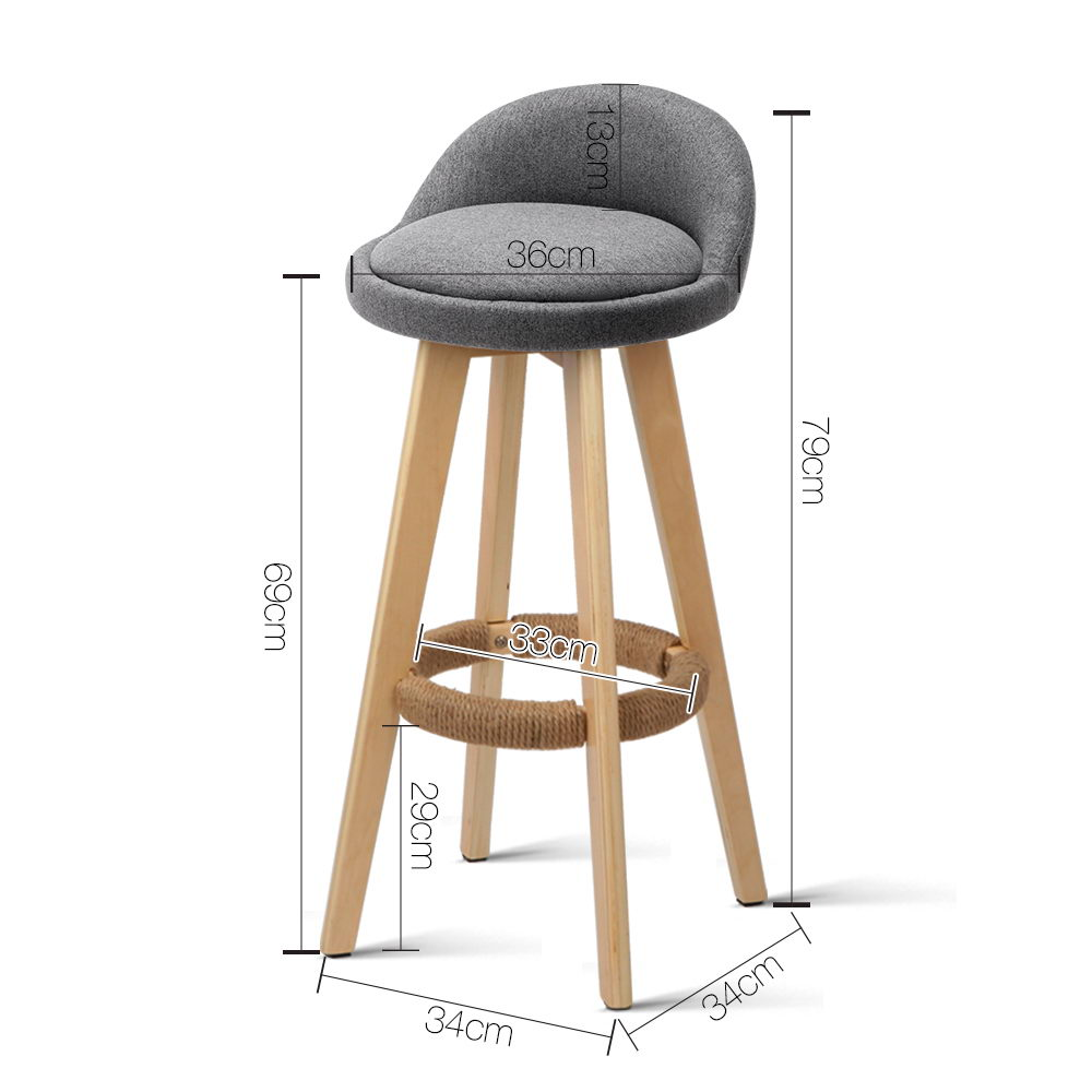 Dave - Bar Stools measurements