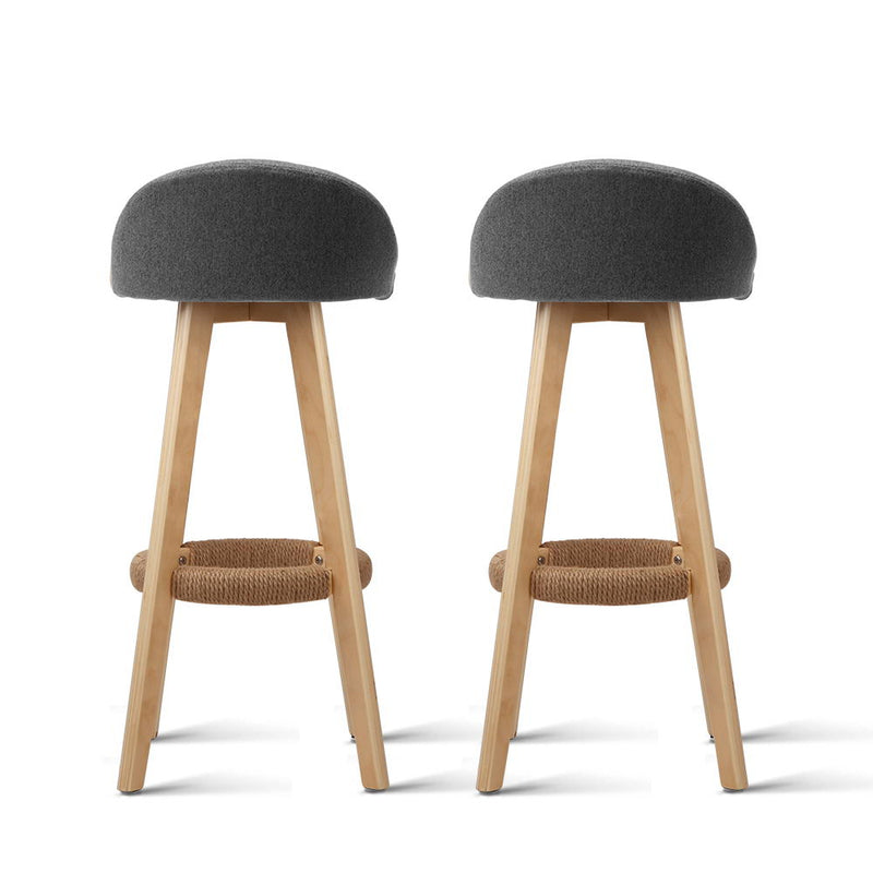 Dave - Bar Stools together back view