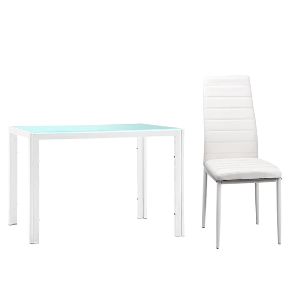 Astrid 5 Piece Dining Table Set chair and tabled