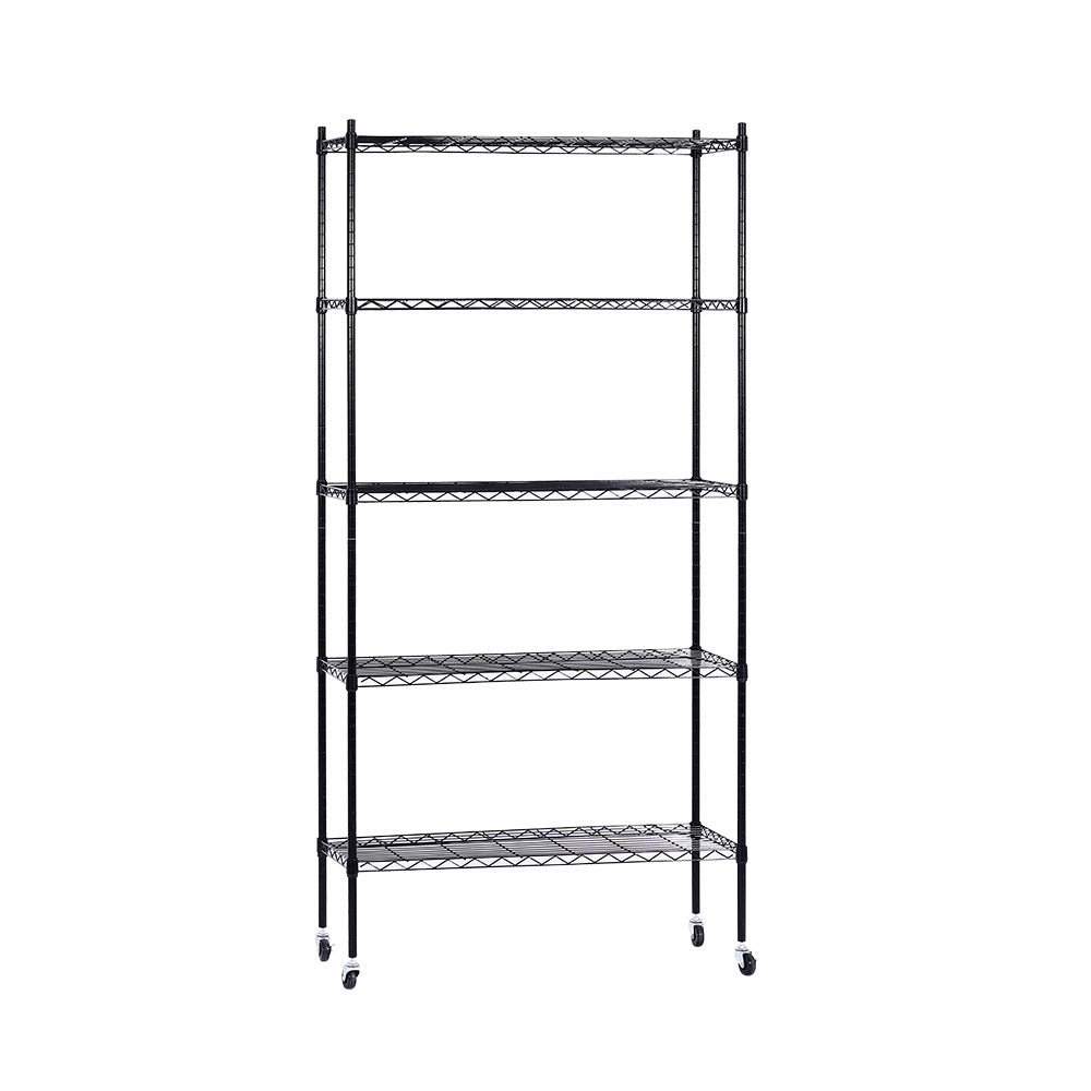 5-Tier Wire Shelving Unit