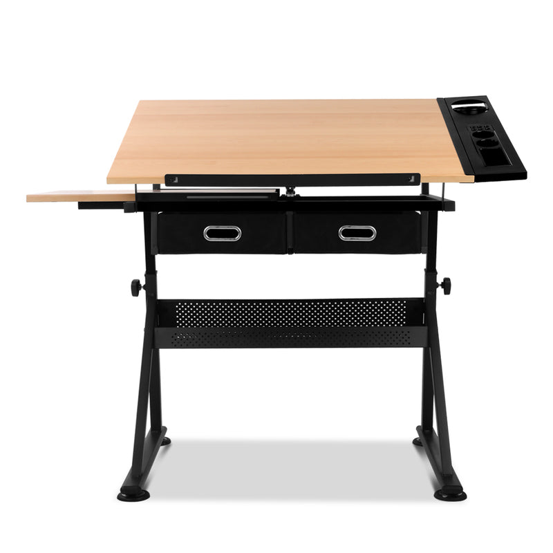 Drafting Desk & Stool Set top flat