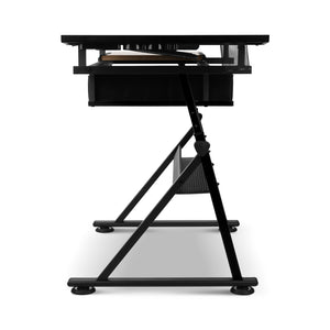 Drafting Desk & Stool Set side view