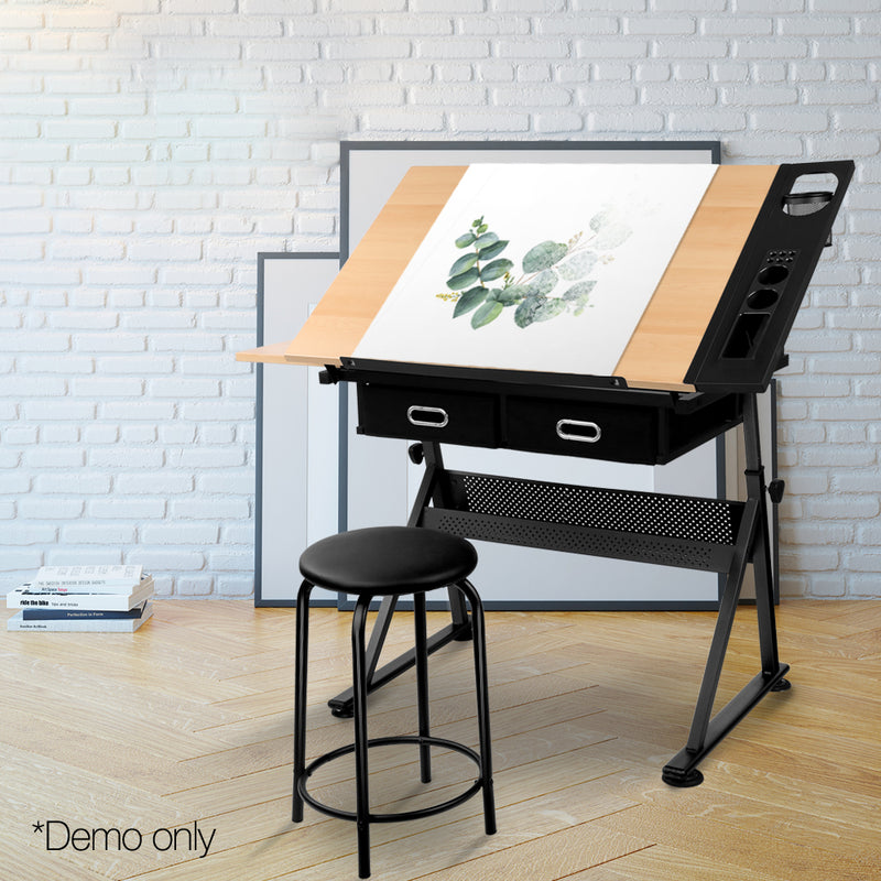 Drafting Desk & Stool Set demo picture