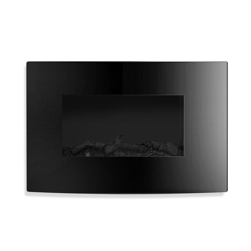 2000W Wall Mounted Electric Fireplace unlit effect