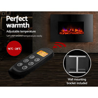 2000W Wall Mounted Electric Fireplace perfect warmth