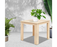 Wooden Outdoor Side Beach Table - demo picture 2