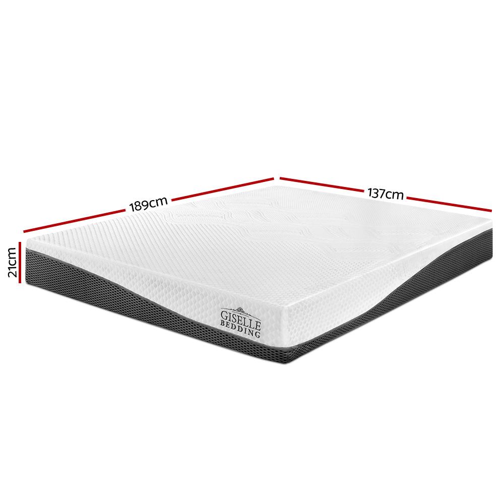 No Spring Memory Foam Mattress - Double measurements