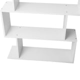 6 Tier Jagged Shelf - White shelf close up 1
