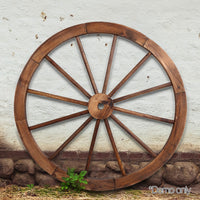 Gardeon Wooden Wagon Wheel demo picture