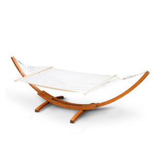 Grace - Double Hammock with Wooden Stand - HomeSimplicity