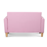 Kids Pink Double Couch with Storage - HomeSimplicity