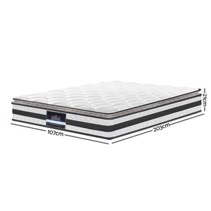 Giselle Bedding King Single Pillow Top Mattress