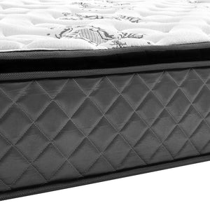 Giselle Bedding King Pillow Top Foam Mattress