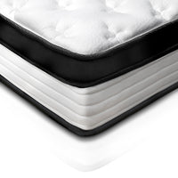31cm Thick Foam Mattress - Single close up corner