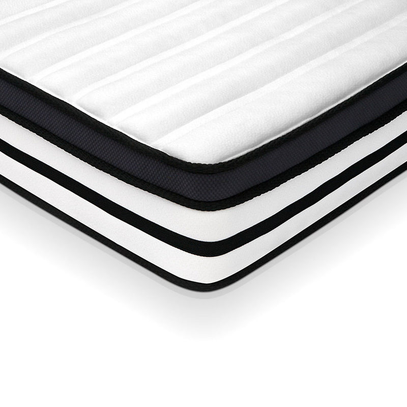 27cm Thick Foam Mattress - Double coroner view