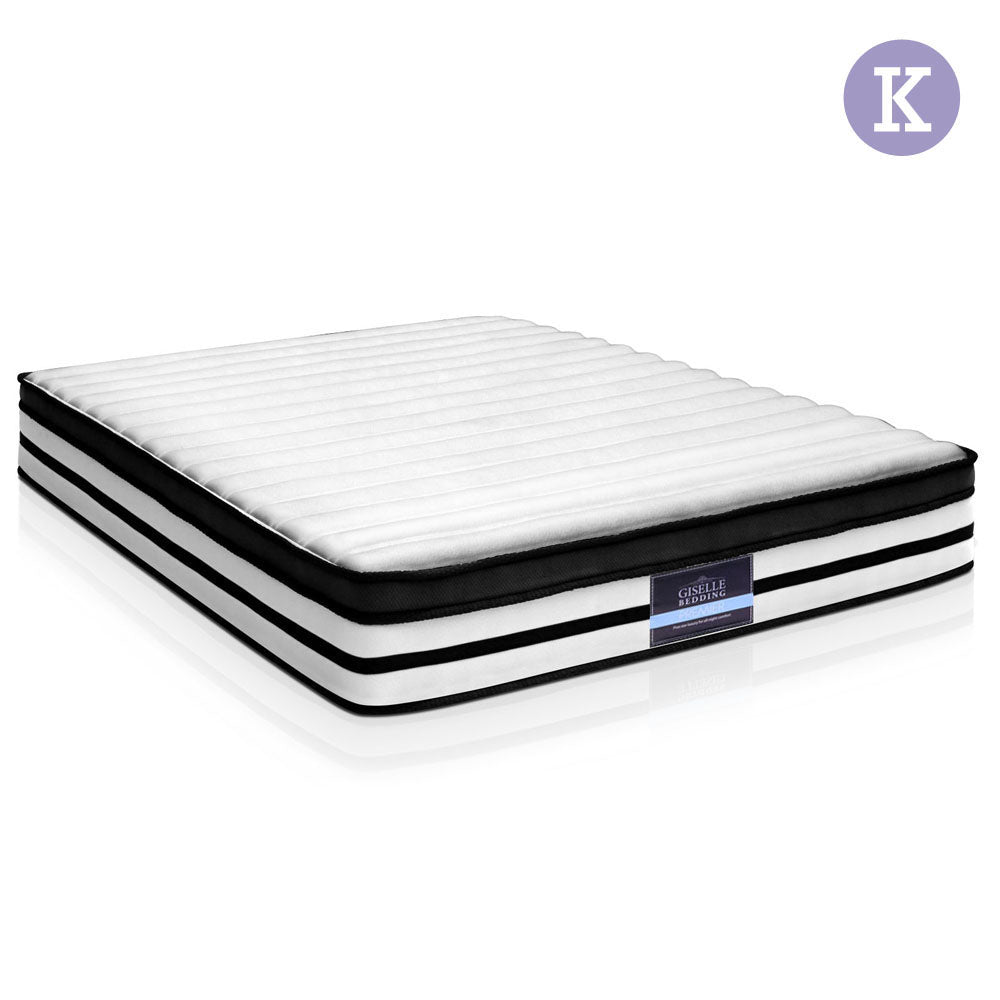27cm Thick Foam Mattress - King full view