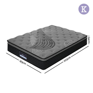 Spring Foam Mattress - King