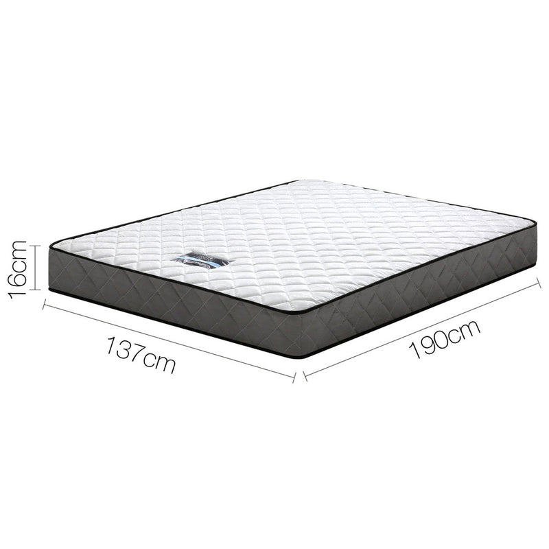 16cm Thick Tight Top Foam Mattress Double measurements