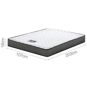 16cm Thick Tight Top Foam Mattress King Single measurements