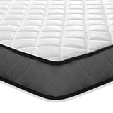 16cm Thick Tight Top Foam Mattress Single corner view