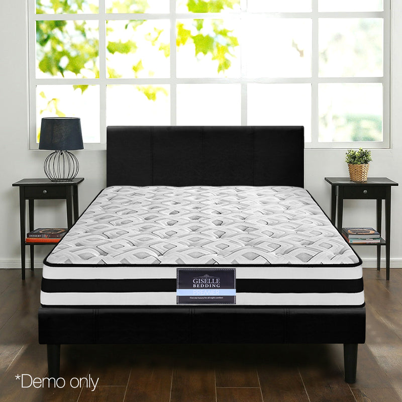 Spring Foam Mattress king demo setting