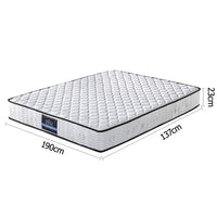 23cm Thick Firm Mattress - Double measurements