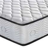 23cm Thick Firm Mattress - Double coroner view