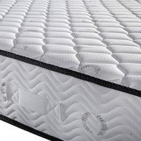 23cm Thick Firm Mattress - Double side close up
