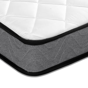13cm Thick Foam Mattress single  corner view