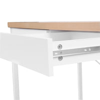 Claire Office Desk with Draws draw slider