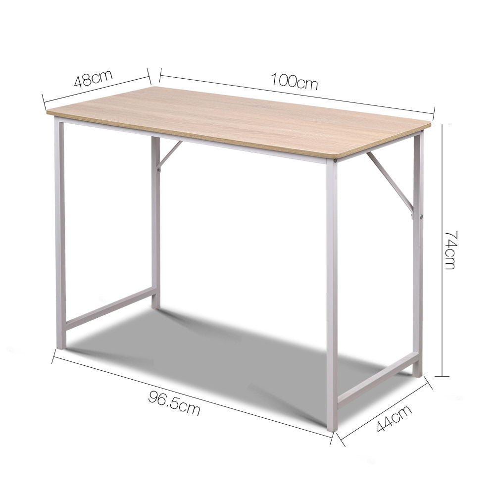 Minimalist Metal Desk  measurements