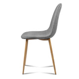 AAdam - Fabric Dining Chair (Set of 4)side view