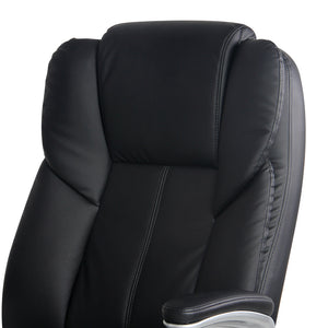 8 Point PU Leather Massage Chair back rest