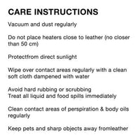 8 Point PU Leather Massage Chair care instructions