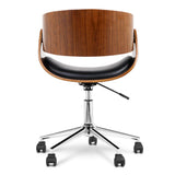 Curved Office Chair back view