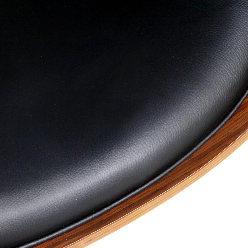Curved Office Chair seat close up