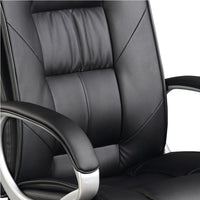 Executive Office Chair back rest close up