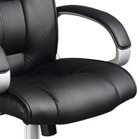 Executive Office Chair seat close up