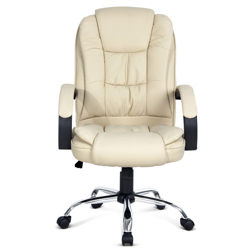 Executive Office Chair - Beige front