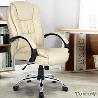 Executive Office Chair - Beige demo picture only