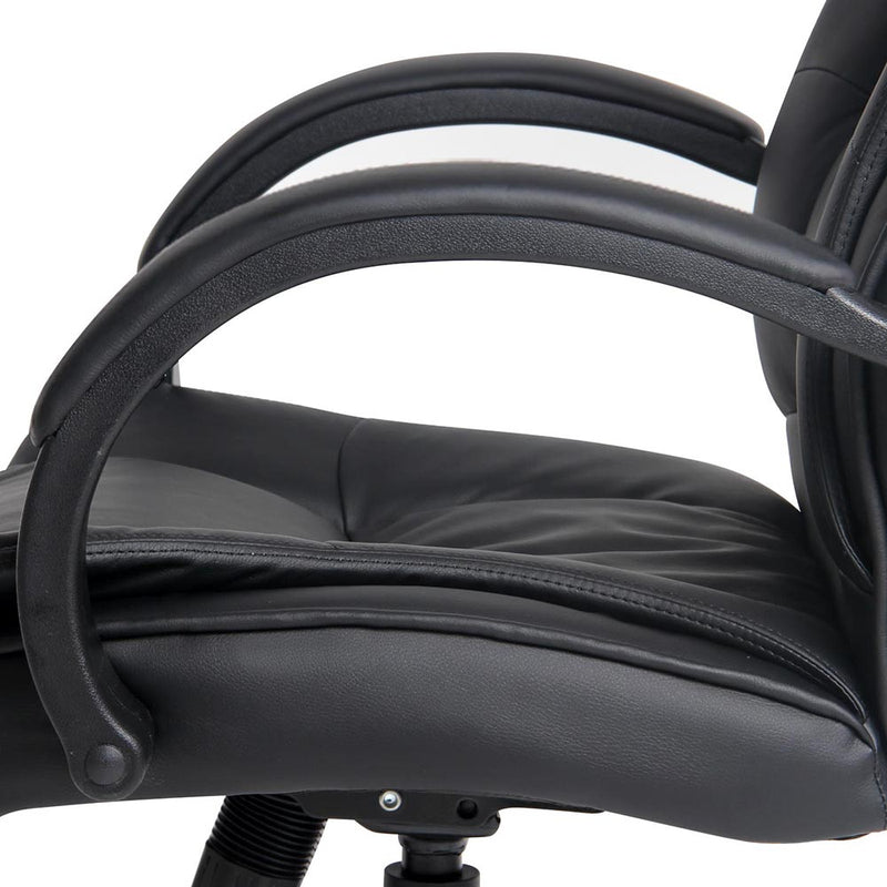 Lesley Executive Office Chair - Black seat and arm rests