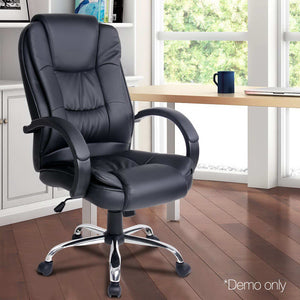 Lesley Executive Office Chair - Black demo picture only