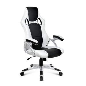 Zebra Racing Style Office Chair