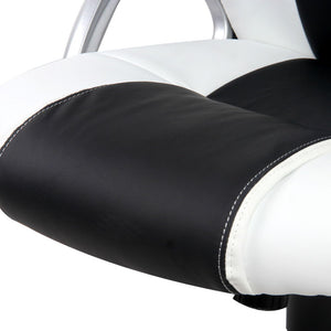 Zebra Racing Style Office Chair  seat padding